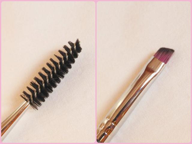 Sedona Lace Makeup Brush - Brow Spoolie Duo EB 17 Review