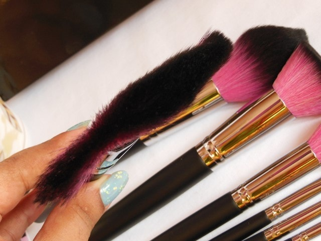 Sedona Lace Makeup Brush - Jumbo Fan Brush Bristles