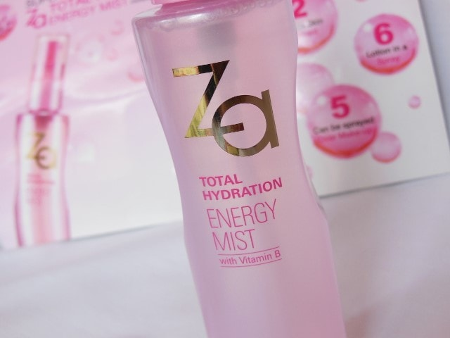 ZA Total Hydration Energy Mist With Vitamin B