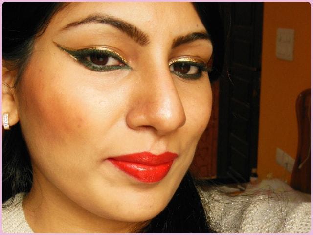 Dual Colored Eye Liner Makeup