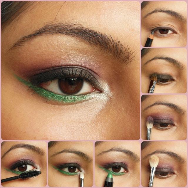 Eye Makeup Tutorial - Pop Of Green