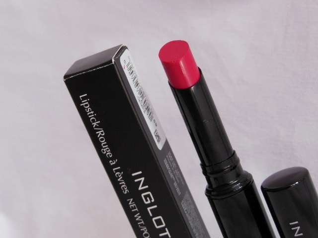 INGLOT Slim Gel Lipstick Review #59