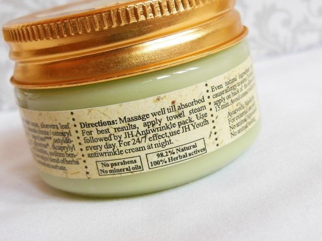 Just Herbs Plump Up Age Defying Anti-wrinkle Gel Directions
