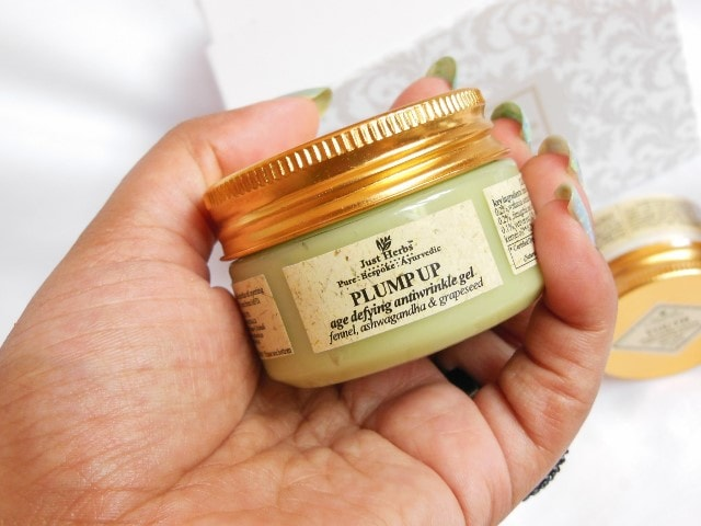 Just Herbs Plump Up Age Defying Antiwrinkle Gel