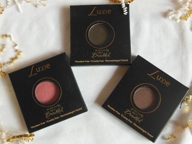 Luxie beauty Haul -Dark Browns Eye Shadows