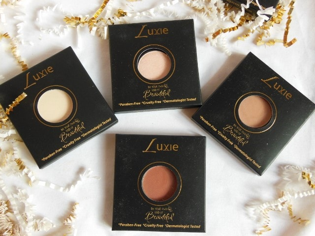 Luxie beauty Haul -Neutral Eye Shadow
