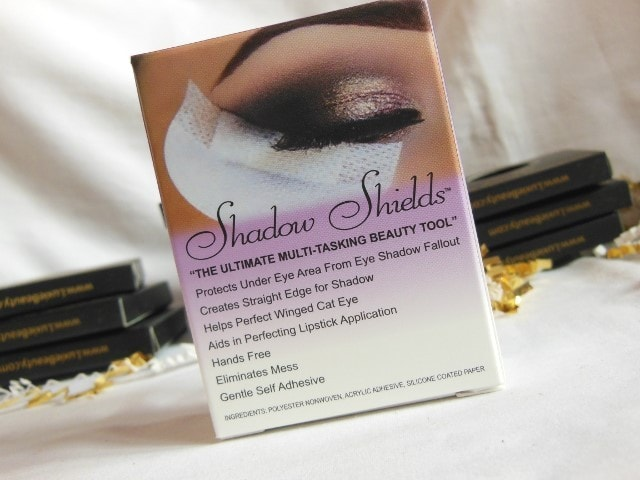 Luxie beauty Haul - Shadow Shields Details