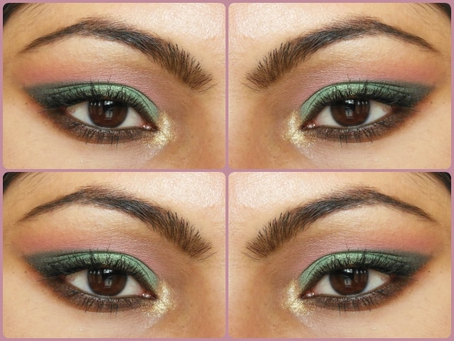 Metallic Green Eye Makeup Tutorial Look