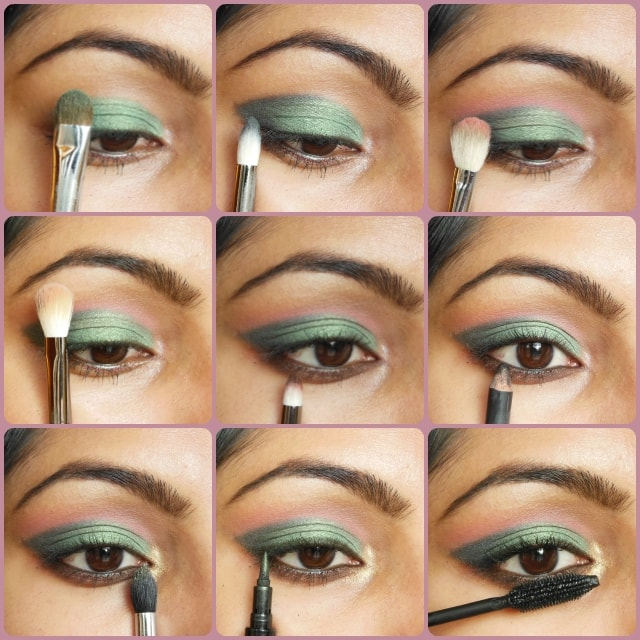 Metallic Green Eye Makeup Tutorial