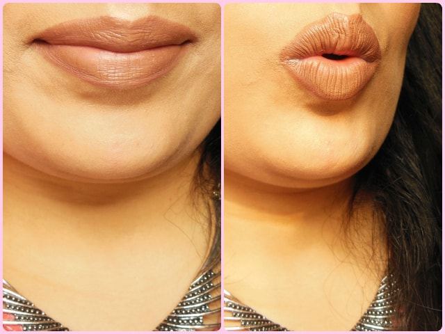 NYX Liquid Suede Cream Lipstick Sandstorm LOTD