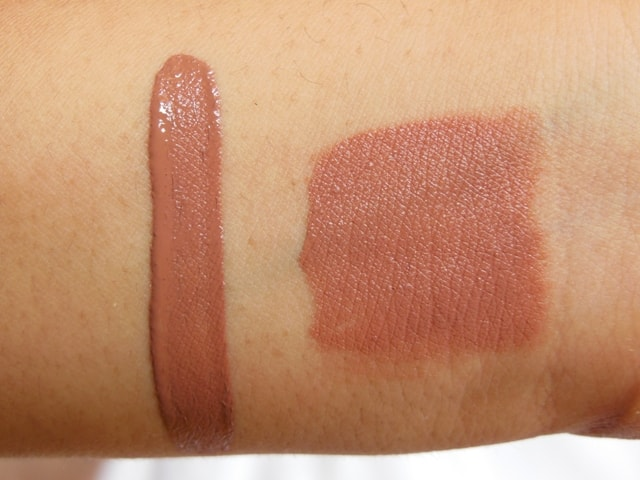 NYX Liquid Suede Cream Lipstick Sandstorm Swatch