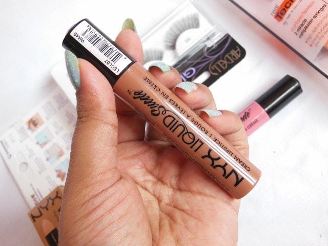 NYX Liquid Suede Cream Lipstick Sandstorm