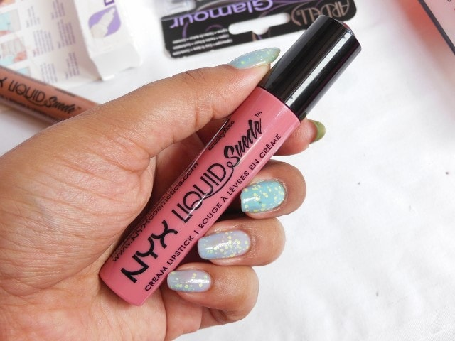 NYX Liquid Suede Cream Lipstick Tea and Cookies