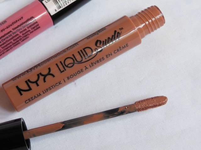 NYX Liquid Suede Cream Lipstick in Sandstorm