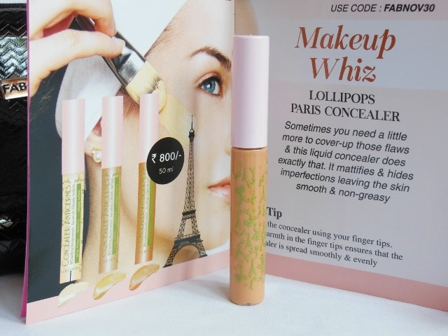 November Fab Bag- Lollipops Paris Concealer