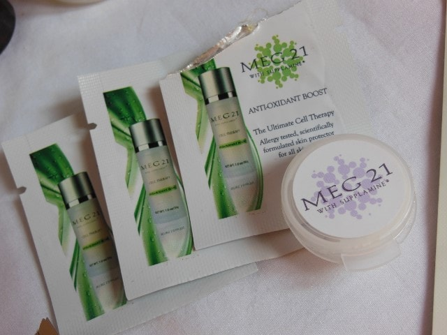 Products Finished in October 2015 - MEG 21 Skincare