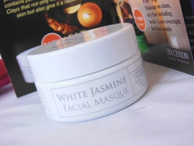 Spa Ceylon Jasmine Face Masque