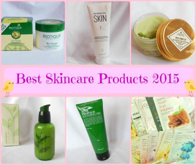 Best Skincare Products 2015