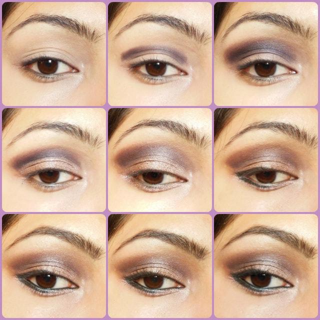 Cool Toned Smokey Brown Eye Makeup Tutorial