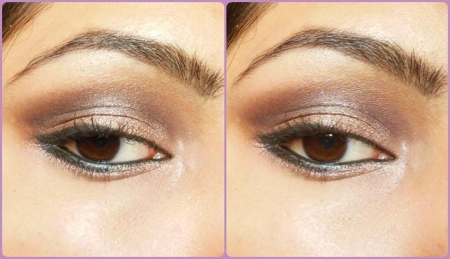 Cool Toned Smokey Brown Eyes EOTD