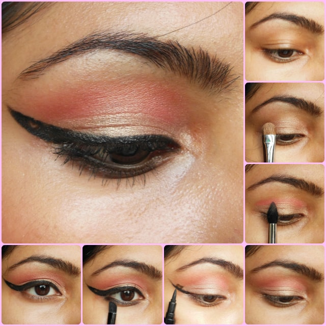 Eye Makeup Tutorial - Heart Eye Liner