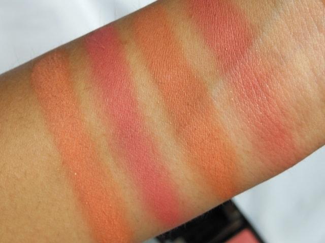 Givenchy Prisme Again! Blush Euphoric Orange Swatch