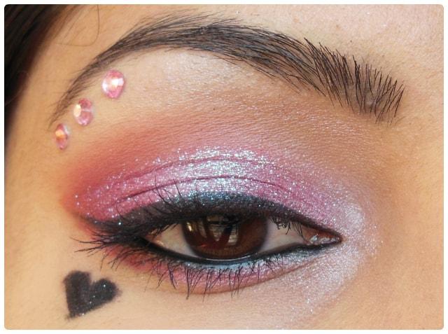 Glittery Pink Eyes
