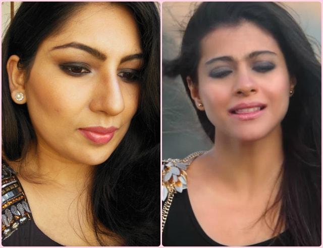Kajol Gerua Song Inspired Makeup look