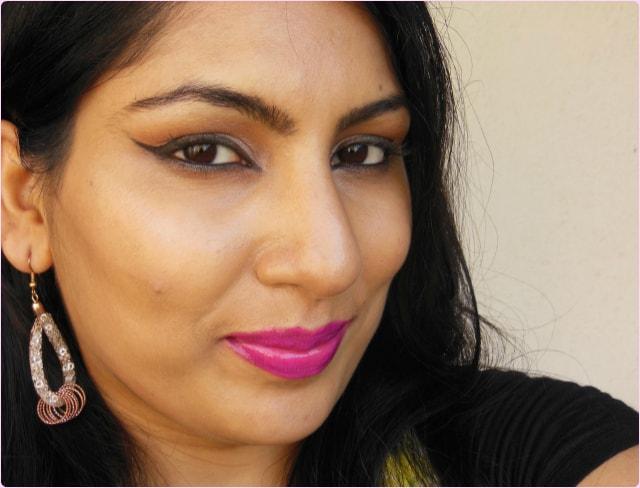 L'Oreal Color Riche Lipstick Fuschia Orchestra fotd