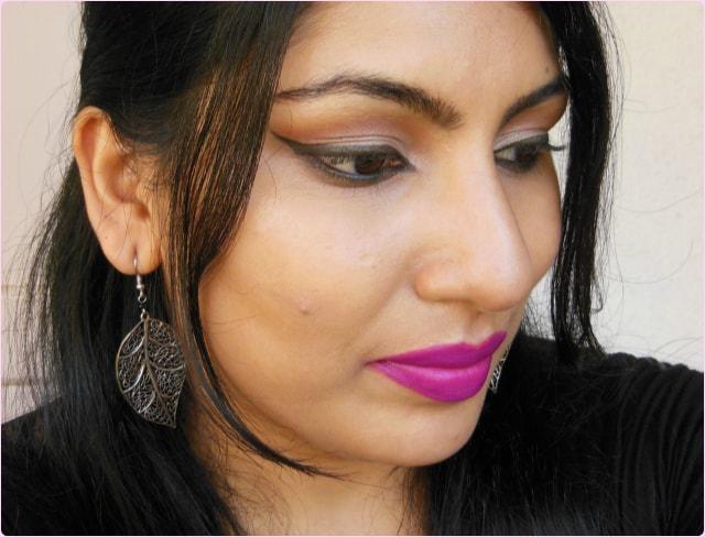 L'Oreal Color Riche Lipstick Glamor Fuchsia fotd