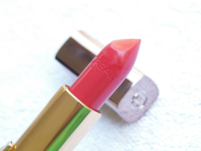 L'Oreal Color Riche Lipstick Rouge Concorde 164 Review