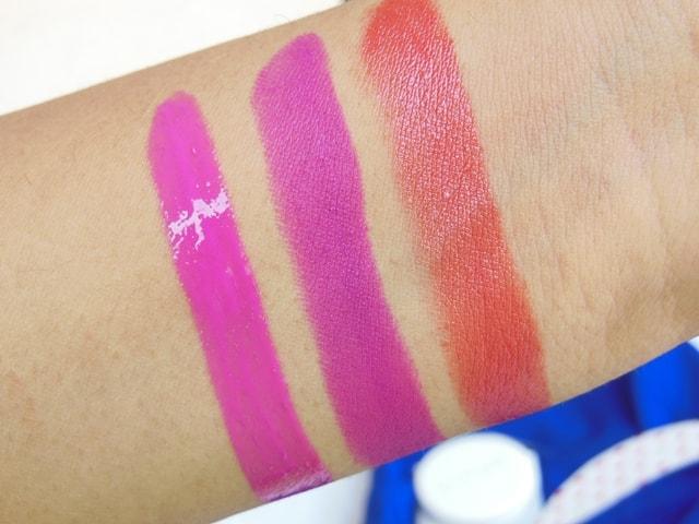 L'Oreal Color Riche Lipsticks Swatch