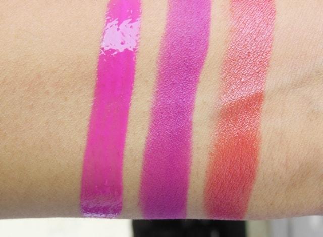 L'Oreal Paris Color Riche Lipsticks Swatch