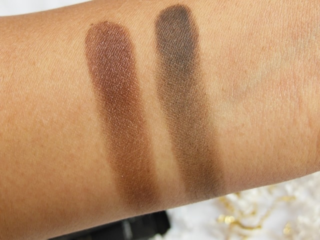 Luxie Beauty Dark Brown Eye Shadow 302, 104 Swatch 2