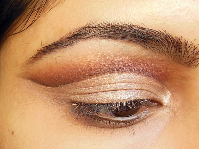 Luxie Glam Eyes Color Primer Liquid Eye Shadow Eclipse EOTD