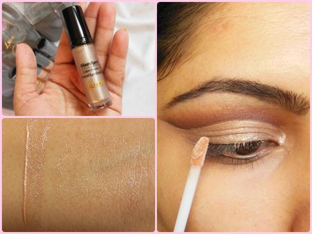 Luxie Glam Eyes Color Primer Liquid Eye Shadow Eclipse Look