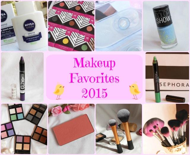 Makeup Favorites 2015