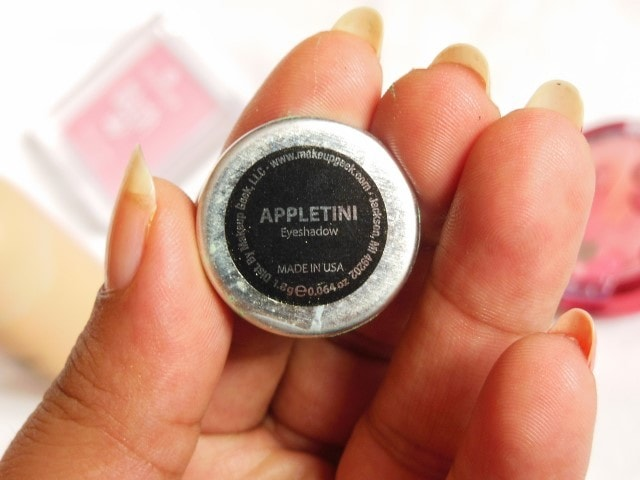 Makeup Geek  Appletini Shade