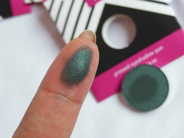 Makeup Geek Envy Eye shadow Swatch