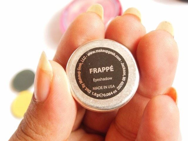 Makeup Geek Frappe Eye Shadow Review
