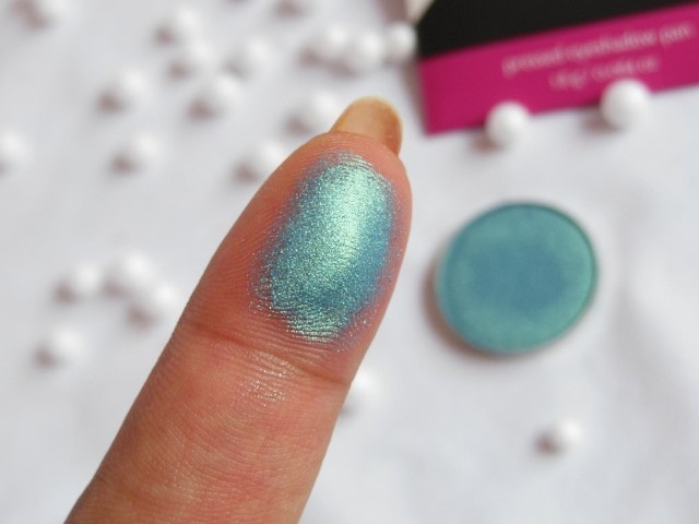 Makeup Geek Mermaid Eye shadow Swatch