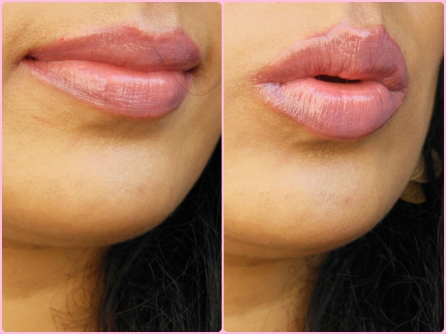 Maybelline Candy Wow Lip Balm Peach LOTD