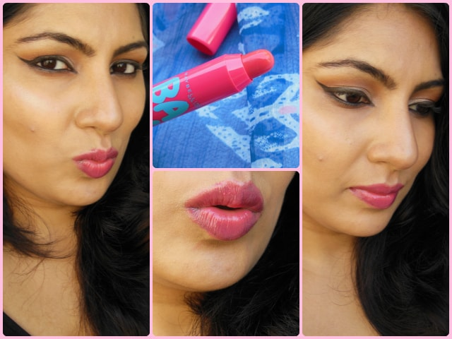 Maybelline Candy Wow Lip Balm Raspberry Look