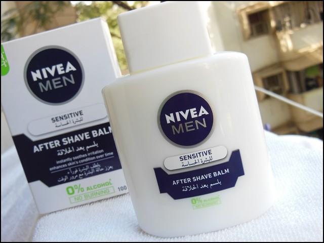 Nivea After Shave Balm as Primer