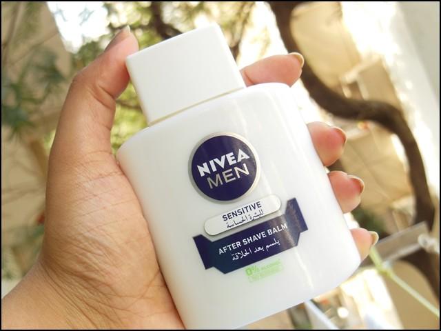 Nivea After Shave Balm as Primer Packaging