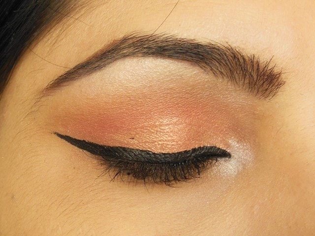Party Perfect Rose Gold Eye Makeup