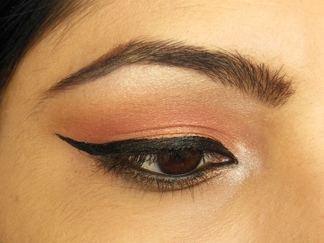 Party Perfect Rose Gold Eyes EOTD