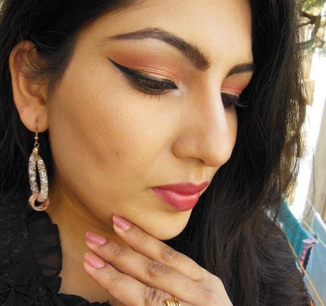 Party Perfect Rose Gold Makeup Face