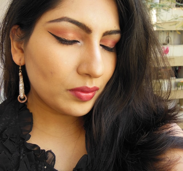 Party Perfect Rose Gold Makeup Look