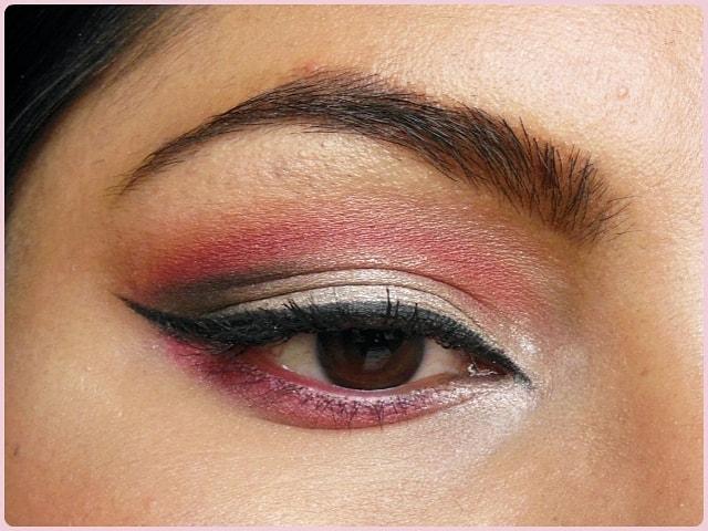 Pink Cut Crease Eyes